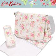 【新作!2009SS】キャスキッドソン【Cathkidston】 マザーズバッグ SPRAY FLOWERS 241342(NAPPY BAG)