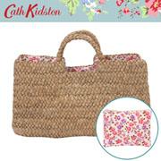 【新作!2009SS】キャスキッドソン【Cathkidston】 ストローバッグ Bonnet Ditsy 244732(Box Basket)